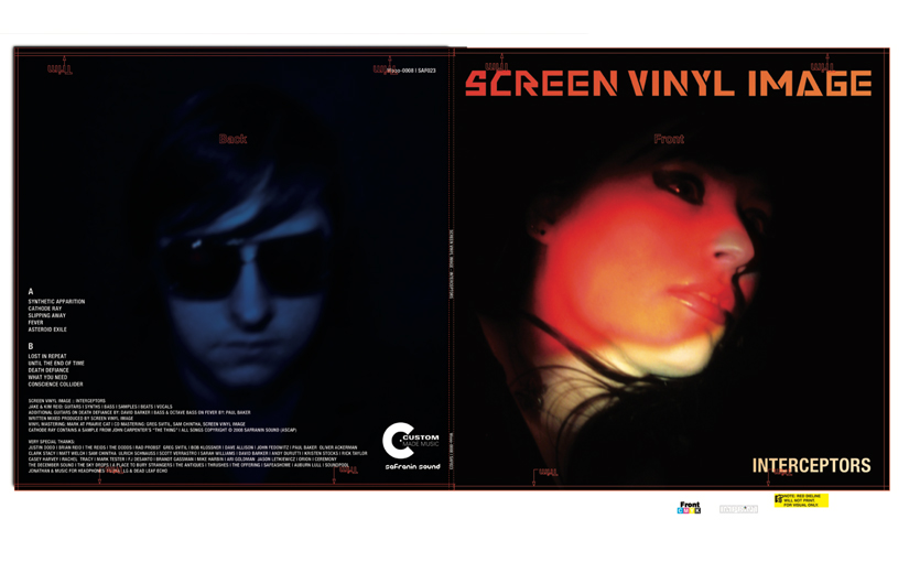 The graphic design of Screen Vinyl Image's Interceptors
