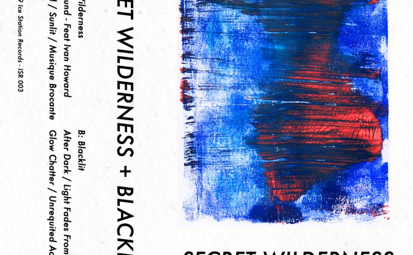 Secret Wilderness + Blacklit cassette cover